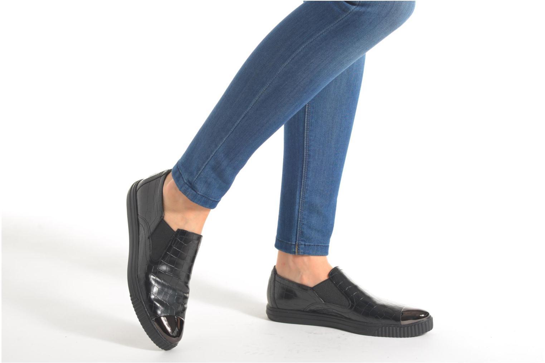 Sneakers Geox D AMALTHIA B D641MB Zwart onder