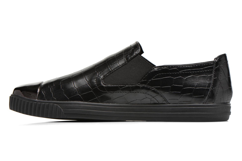 Sneakers Geox D AMALTHIA B D641MB Zwart voorkant