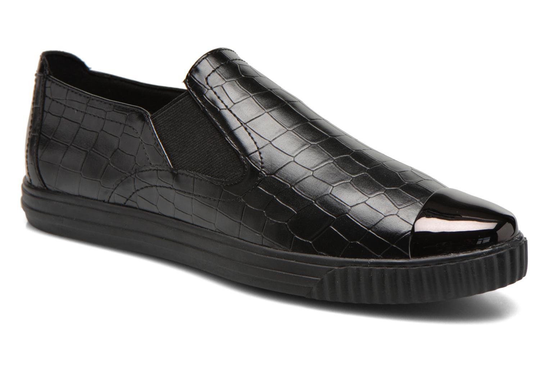 Sneakers Geox D AMALTHIA B D641MB Zwart detail
