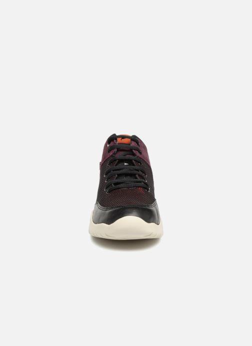 Baskets Geox D SFINGE A D642NA Bordeaux vue portées chaussures