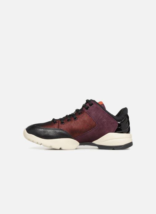 Sneakers Geox D SFINGE A D642NA Bordeaux voorkant