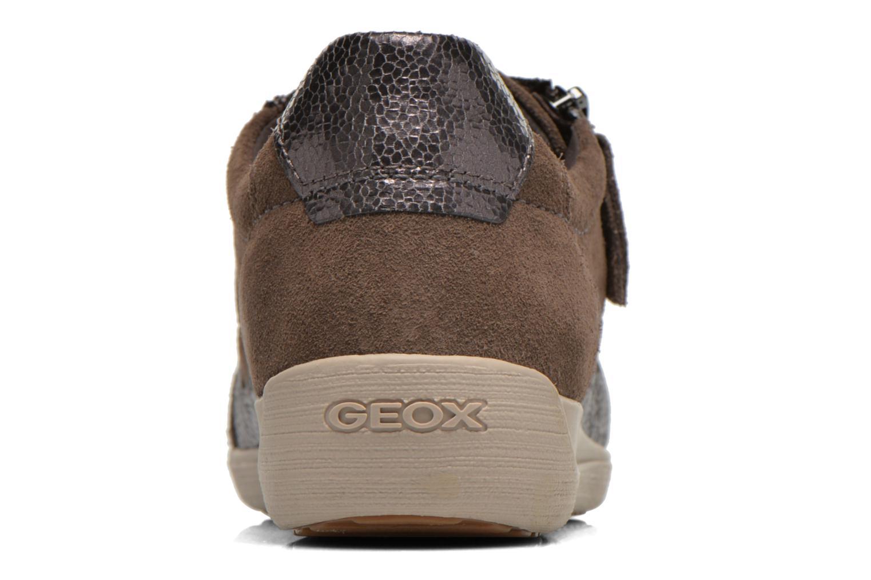 Sneakers Geox D MYRIA A D6468A Oro e bronzo immagine destra