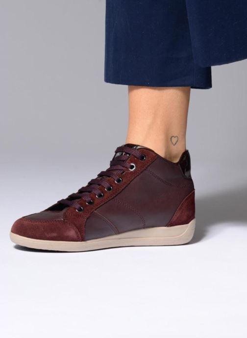 Geox D MYRIA C D6468C (schwarz) Sneaker bei Ii5Zu