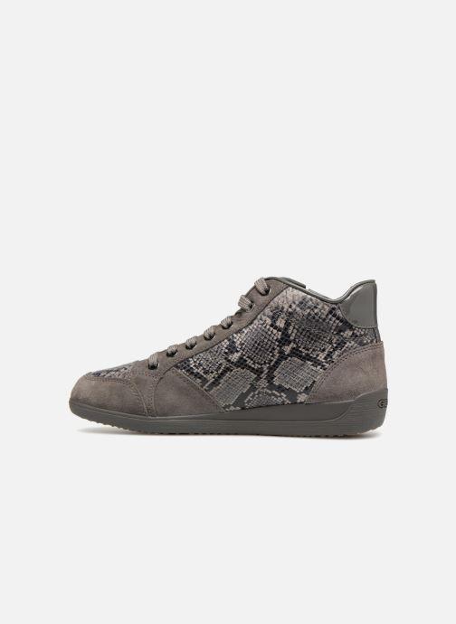 Sneakers Geox D MYRIA C D6468C Grigio immagine frontale