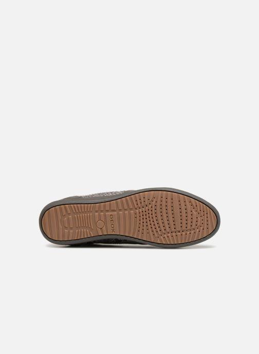 Sneakers Geox D MYRIA C D6468C Grigio immagine dall'alto