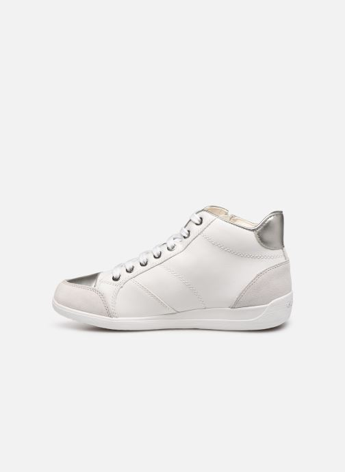 Trainers Geox D MYRIA C D6468C White front view