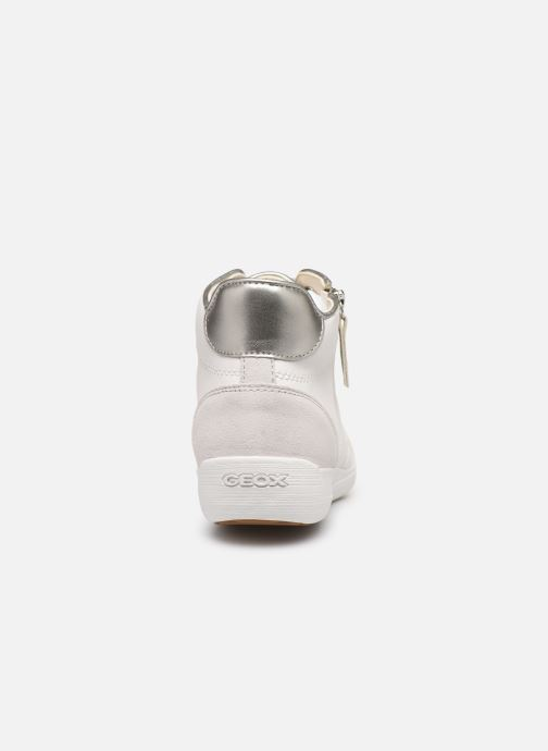 Trainers Geox D MYRIA C D6468C White view from the right