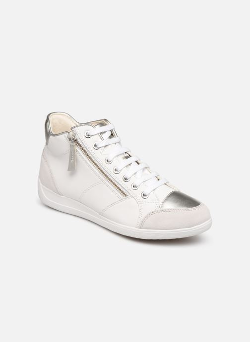 Trainers Geox D MYRIA C D6468C White detailed view/ Pair view