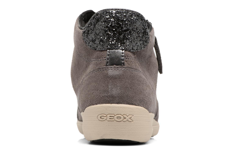 Baskets Geox D MYRIA C D6468C Gris vue droite