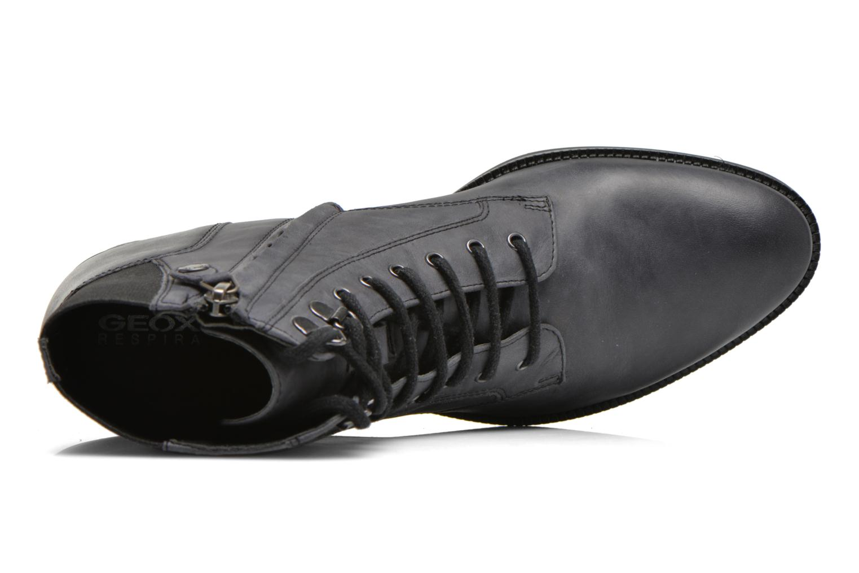 Bottines et boots Geox D MENDI ST B D6490B Gris vue gauche