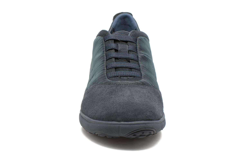 Baskets Geox U NEBULA F U62D7F Bleu vue portées chaussures