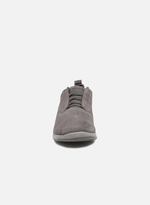 Sneaker Geox U XUNDAY 2FIT A U640DA grau schuhe getragen