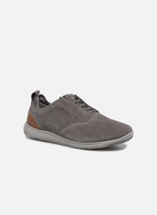 Trainers Geox U XUNDAY 2FIT A U640DA Grey detailed view/ Pair view