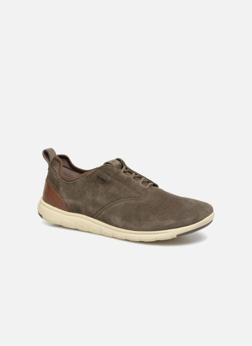 Trainers Geox U XUNDAY 2FIT A U640DA Brown detailed view/ Pair view
