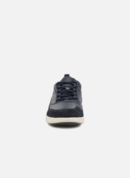 Sneaker Geox U AILAND A U641QA blau schuhe getragen