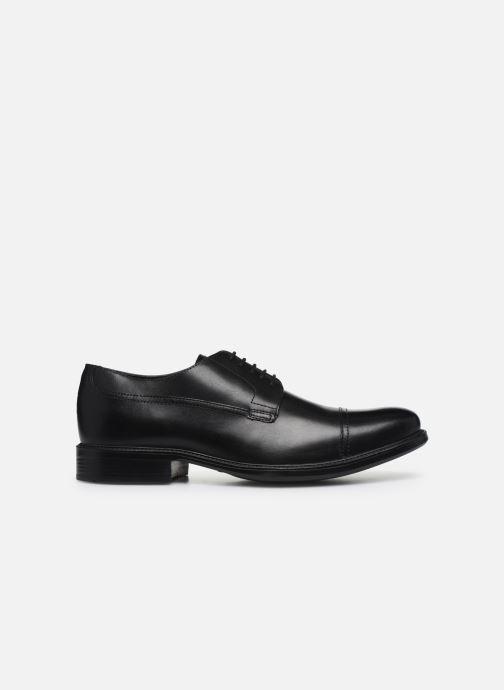 Chaussures à lacets Geox U CARNABY G U64W1G Noir vue derrière