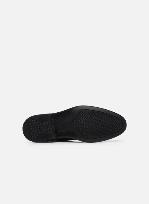 Zapatos con cordones Geox U CARNABY G U64W1G Negro vista de arriba