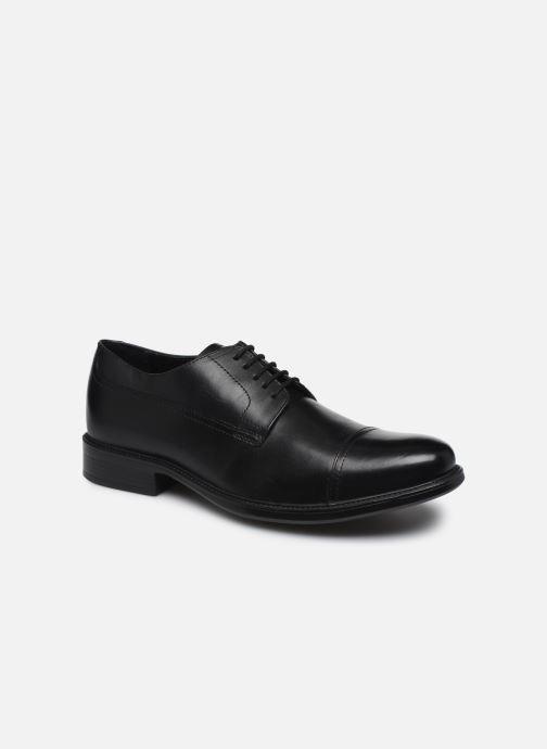 Chaussures à lacets Geox U CARNABY G U64W1G Noir vue détail/paire