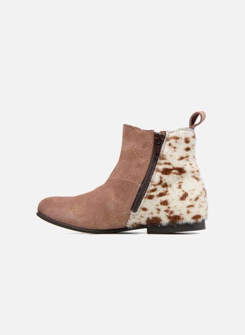 Stiefeletten & Boots PèPè Adriana beige ansicht von vorne