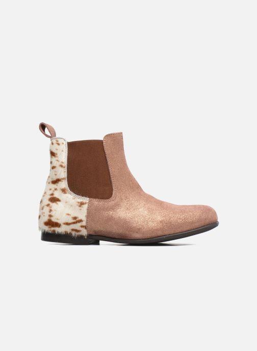 Stiefeletten & Boots PèPè Adriana beige ansicht von hinten