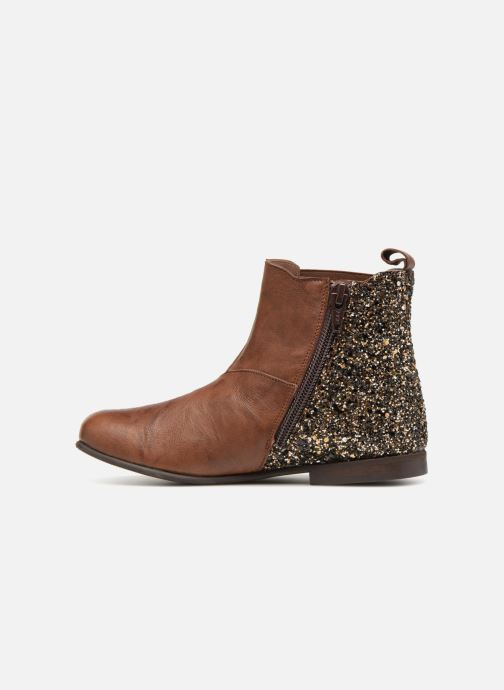Boots en enkellaarsjes PèPè Adriana Bruin voorkant