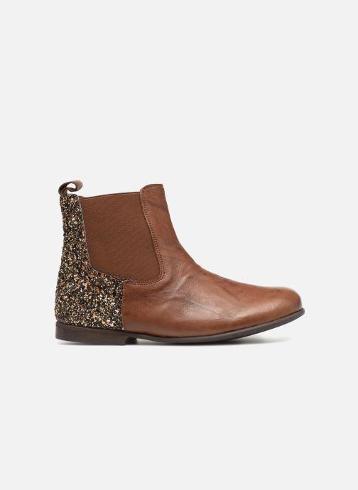 Boots en enkellaarsjes PèPè Adriana Bruin achterkant