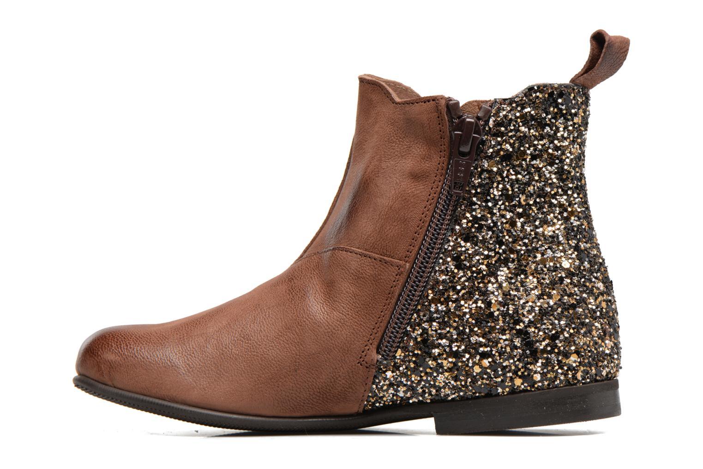 Bottines et boots PèPè Adriana Marron vue face