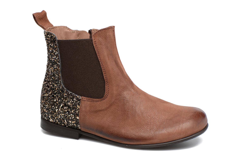 Bottines et boots PèPè Adriana Marron vue détail/paire