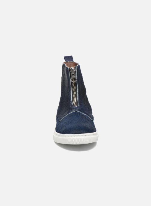 Bottines et boots PèPè Francesca Bleu vue portées chaussures