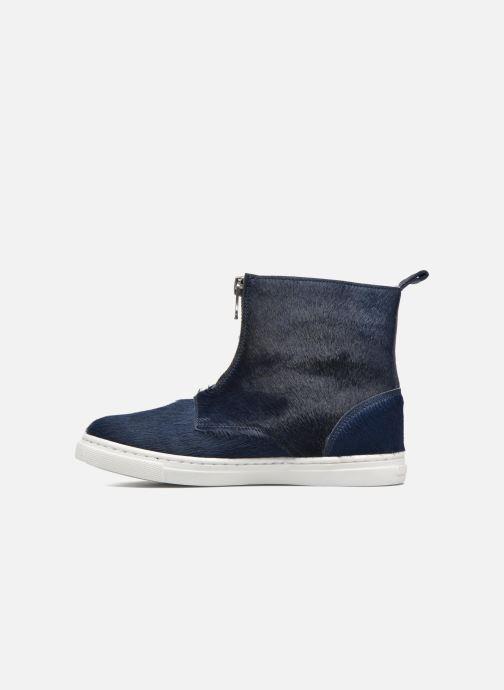 Bottines et boots PèPè Francesca Bleu vue face