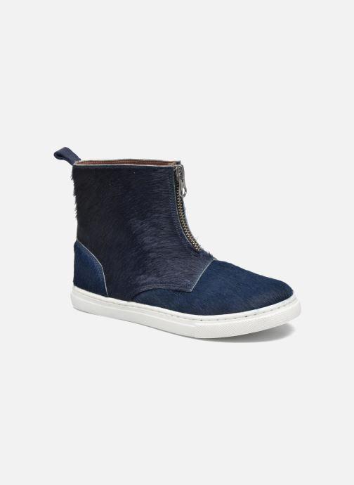 Bottines et boots PèPè Francesca Bleu vue détail/paire