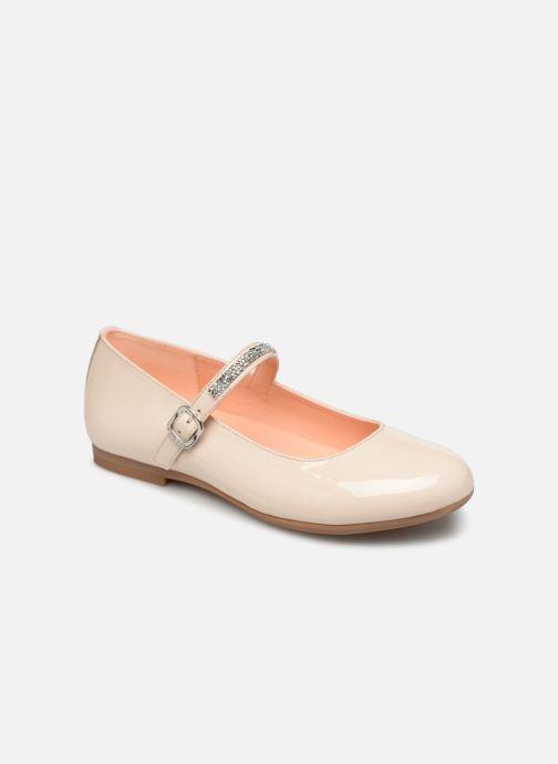 Ballerinaer Unisa Clervy Beige detaljeret billede af skoene