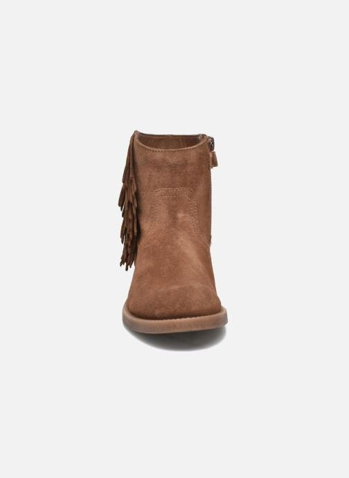 Ankle boots Unisa Ghost Brown model view
