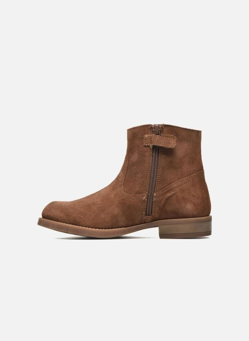 Ankle boots Unisa Ghost Brown front view