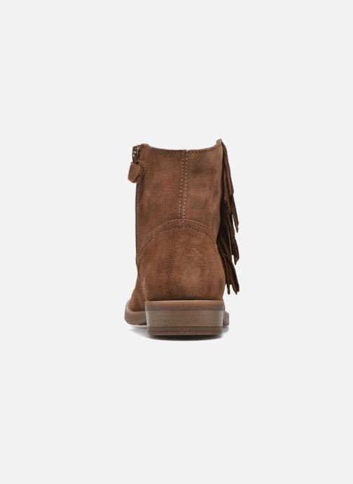 Ankle boots Unisa Ghost Brown view from the right