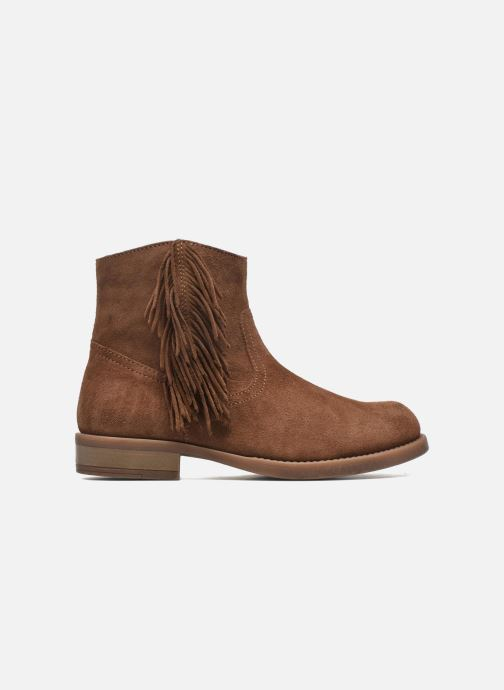 Ankle boots Unisa Ghost Brown back view