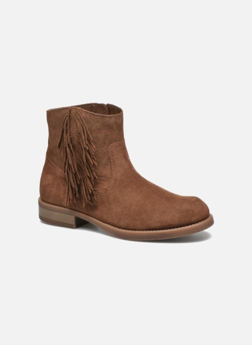 Ankle boots Unisa Ghost Brown detailed view/ Pair view