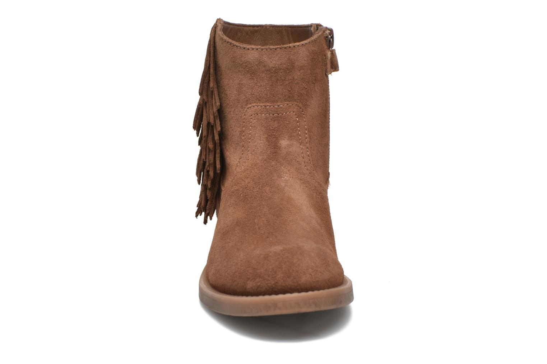 Bottines et boots Unisa Ghost Marron vue portées chaussures