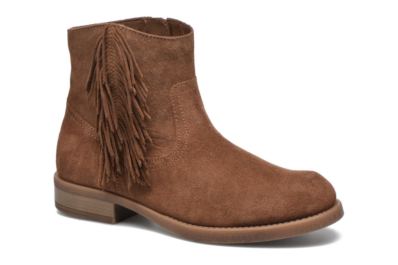 Bottines et boots Unisa Ghost Marron vue détail/paire