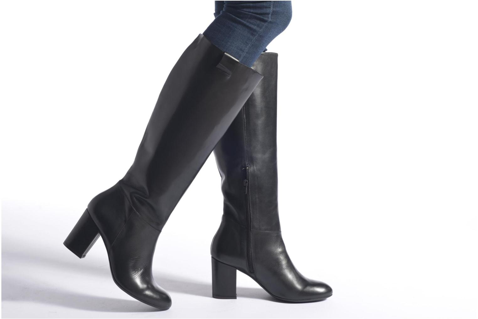 Boots & wellies Made by SARENZA See Ya Topanga #14 Black view from underneath / model view
