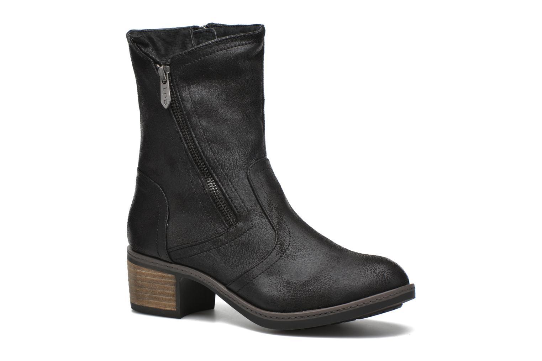 Bottines et boots Les P'tites Bombes Blandine Noir vue détail/paire