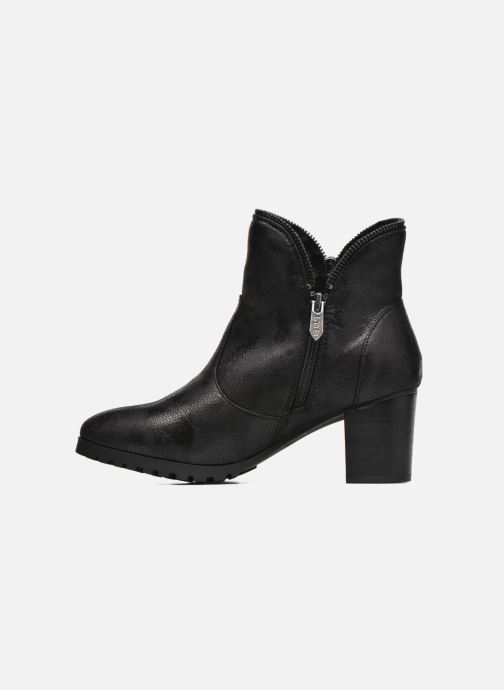 Ankle boots Les P'tites Bombes Charline Black front view