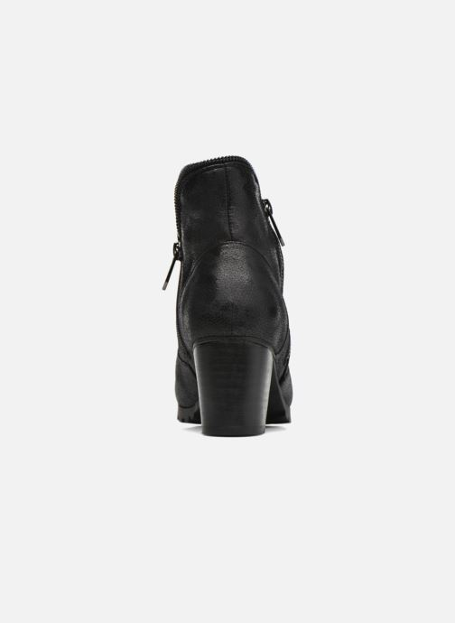 Ankle boots Les P'tites Bombes Charline Black view from the right
