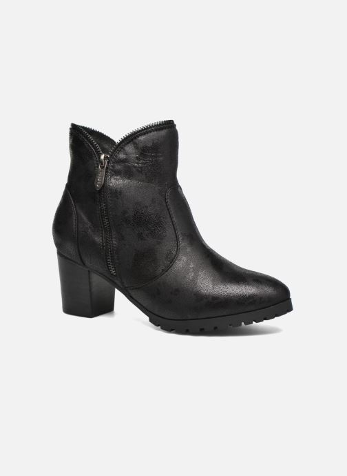 Ankle boots Les P'tites Bombes Charline Black detailed view/ Pair view