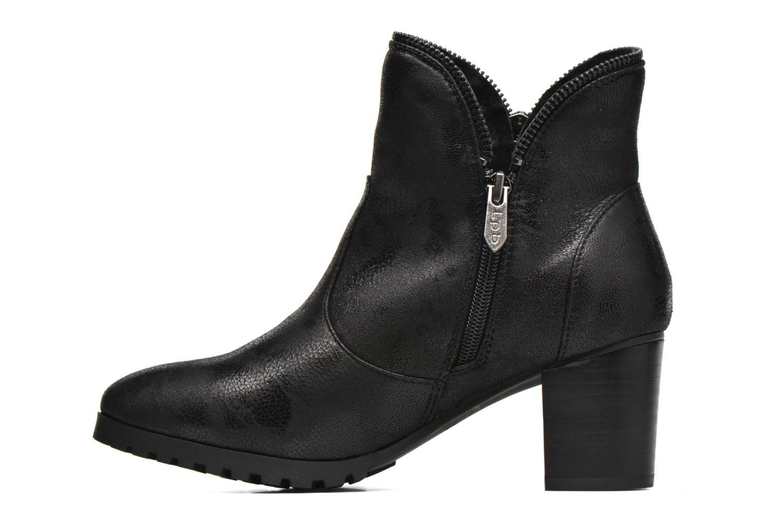 Bottines et boots Les P'tites Bombes Charline Noir vue face