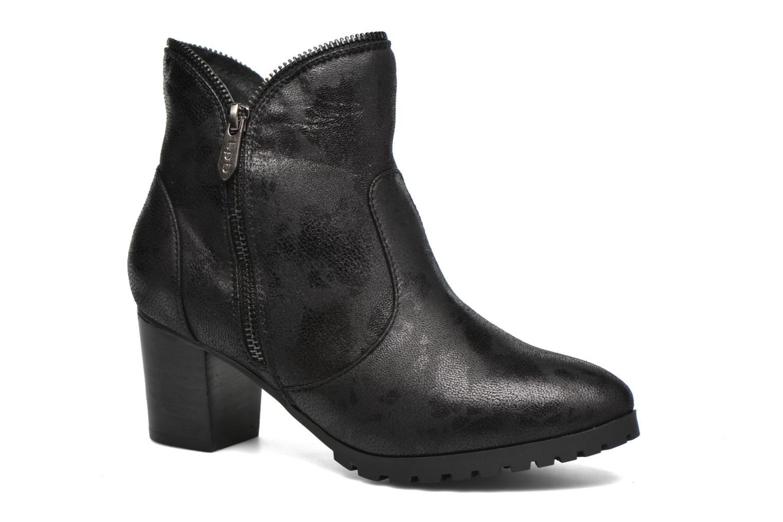 Bottines et boots Les P'tites Bombes Charline Noir vue détail/paire