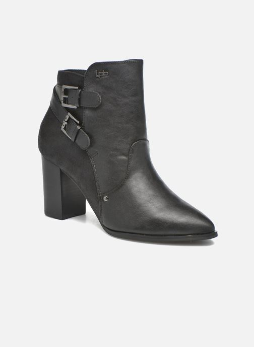 Ankle boots Les P'tites Bombes Idao Black detailed view/ Pair view