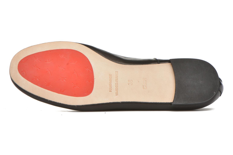 Chaussures à lacets Opéra national de Paris Odelie 2 Noir vue haut