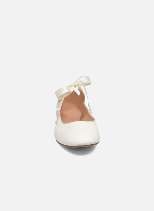 Ballerines Opéra national de Paris Eloge Blanc vue portées chaussures