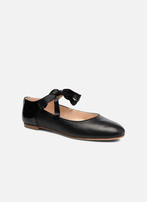 Ballet pumps Opéra national de Paris Eloge Black detailed view/ Pair view